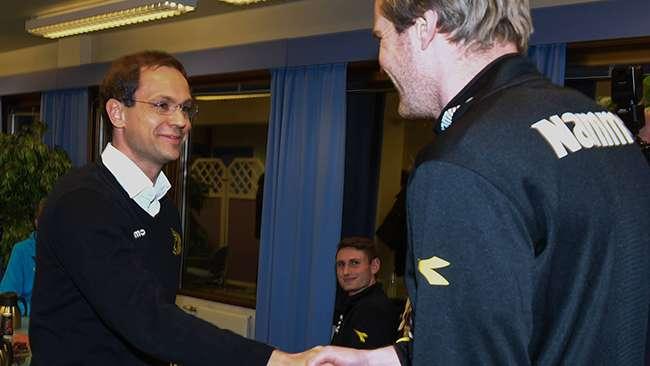 Christian Johnsen og Petter Senstad