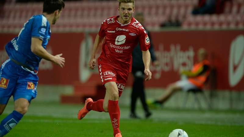 Brann - Tromsø 1-0: Gilli Rólantsson