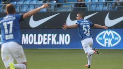 Molde FK - Odd 4-2 feiring Tobias Svendsen