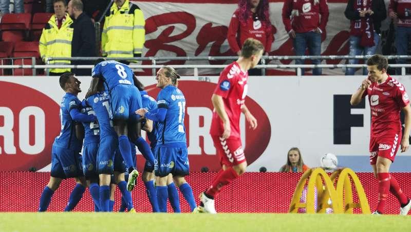 Brann - Molde FK feiring mål