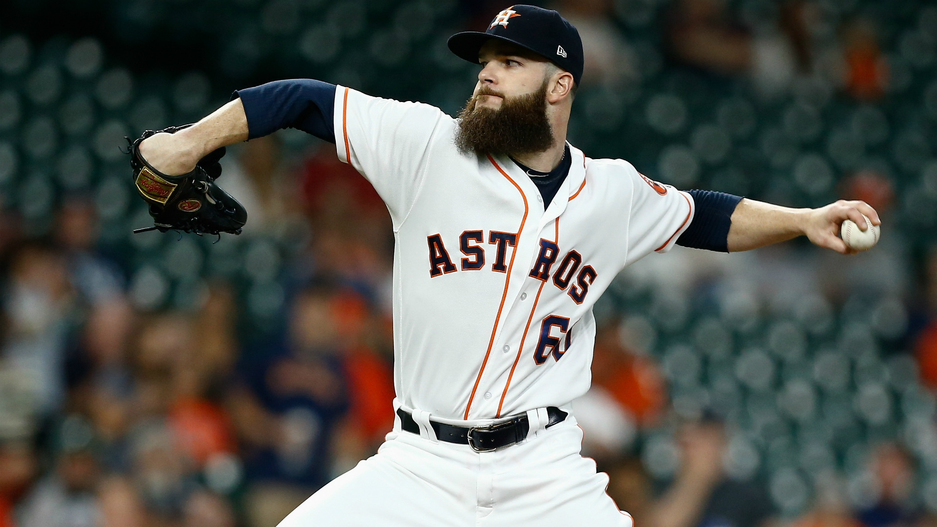 Keuchel has had an extended stay in free agency after registering a 12-11 record and a 3.74 ERA in 34 starts with the Astros last season.