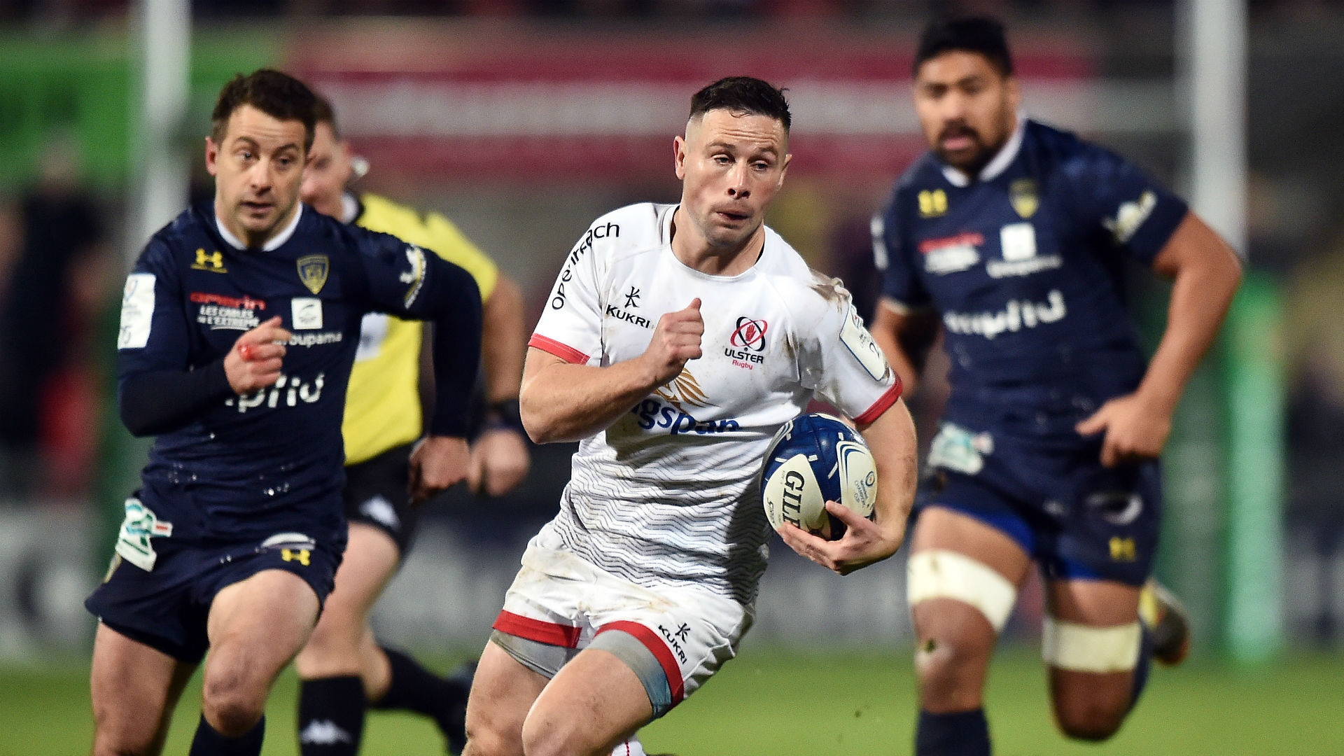 Ulster made it two wins from two in this season's European Champions Cup by overcoming Pool 3 rivals Clermont Auvergne.