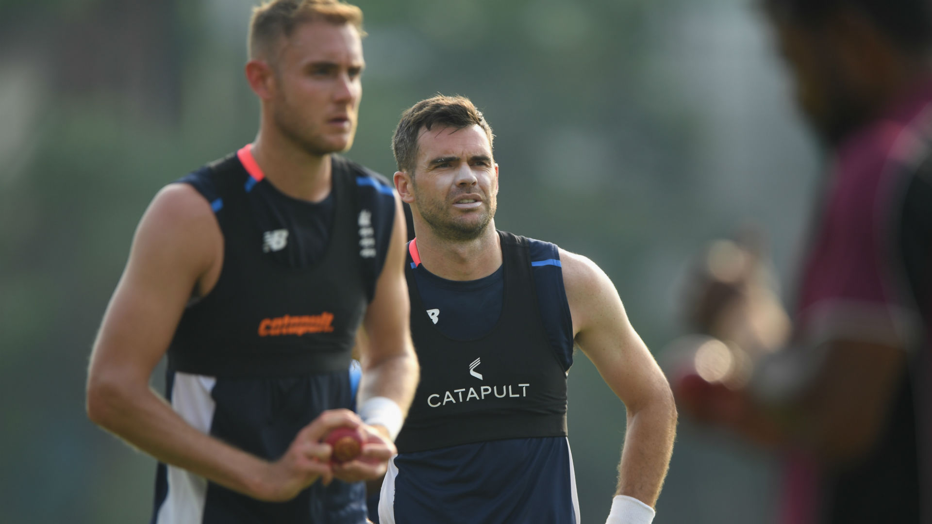 Root: Anderson and Broad could play