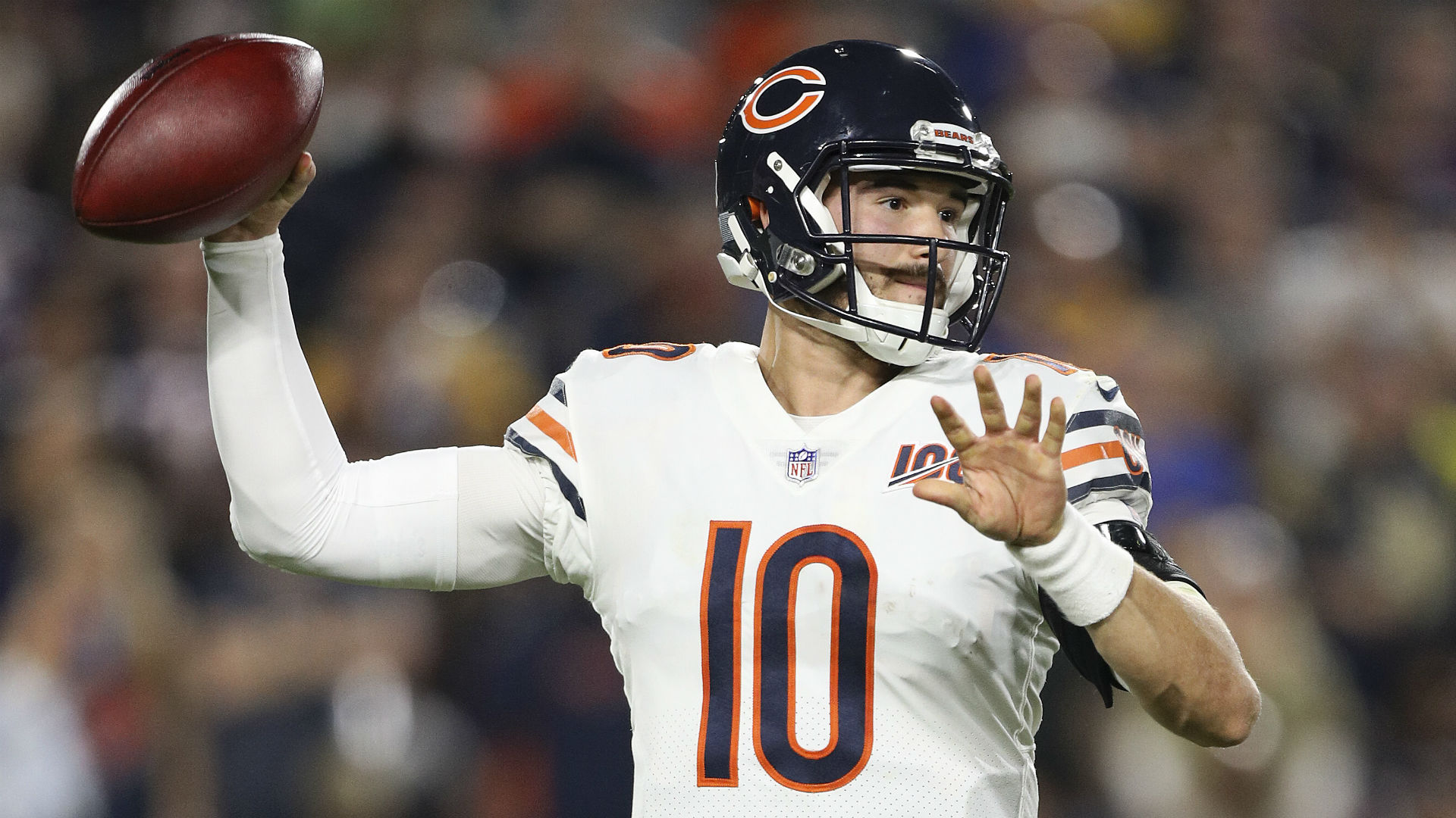 Mitchell Trubisky will start for the Chicago Bears this weekend provided he recovers from a hip injury, as expected.