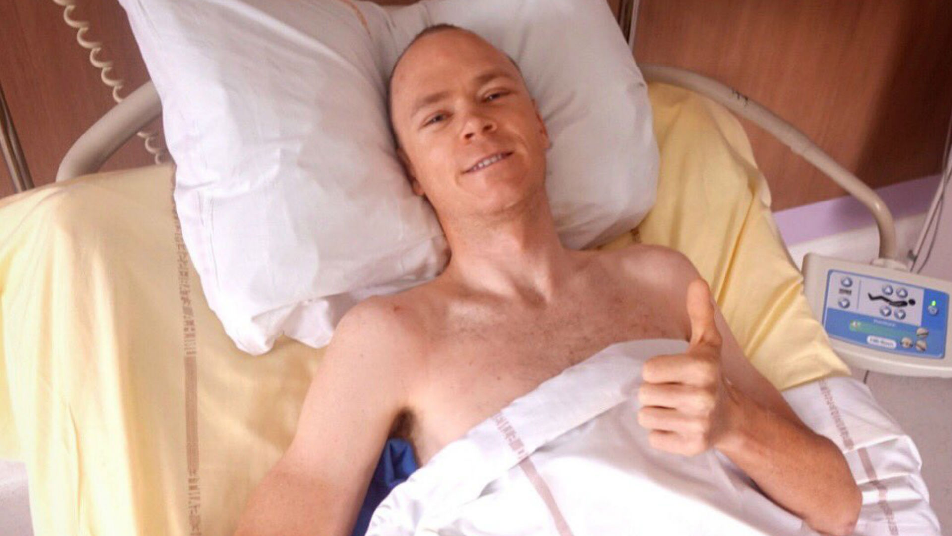 Just three days after a crash that left him requiring eight hours of surgery, Chris Froome is turning his attention to a full recovery.