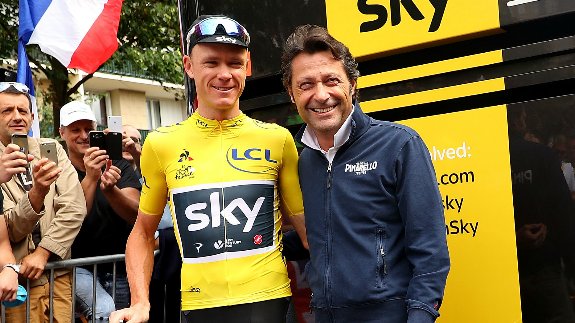The chief executive of Team Sky's bike sponsors said he has taken plenty of calls from people keen to be part of the team's future.