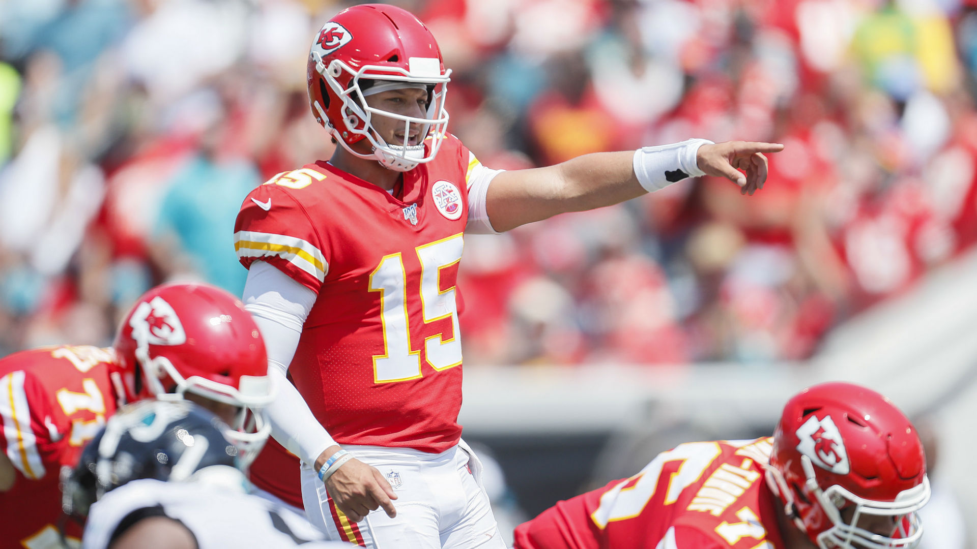 Reigning NFL MVP and Kansas City Chief quarterback Patrick Mahomes did not let an injury sideline him on Sunday.