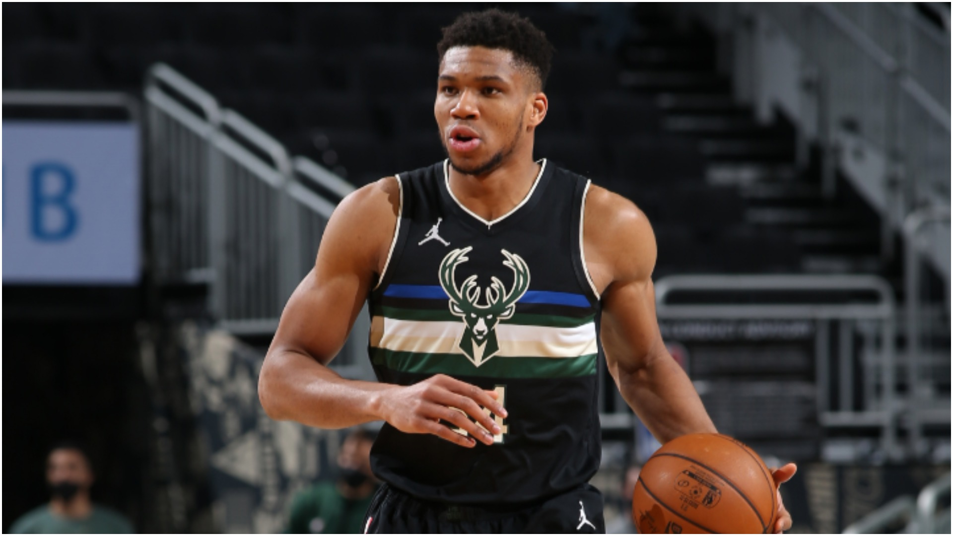 Two-time reigning NBA MVP Giannis Antetokounmpo will sit out against the Golden State Warriors.