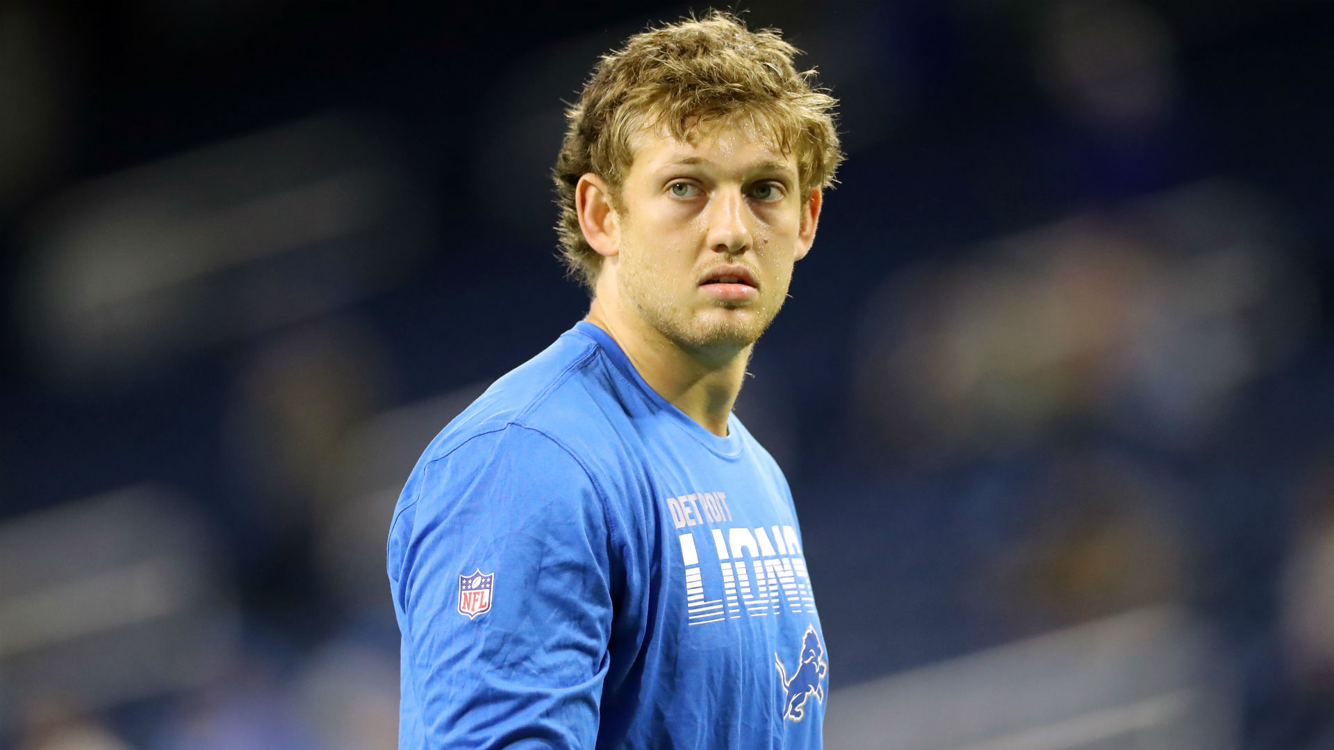 "T.J. Hockenson's rookie season has been ended by an ankle injury, while Detroit Lions quarterback Matthew Stafford remains ""week to week""."