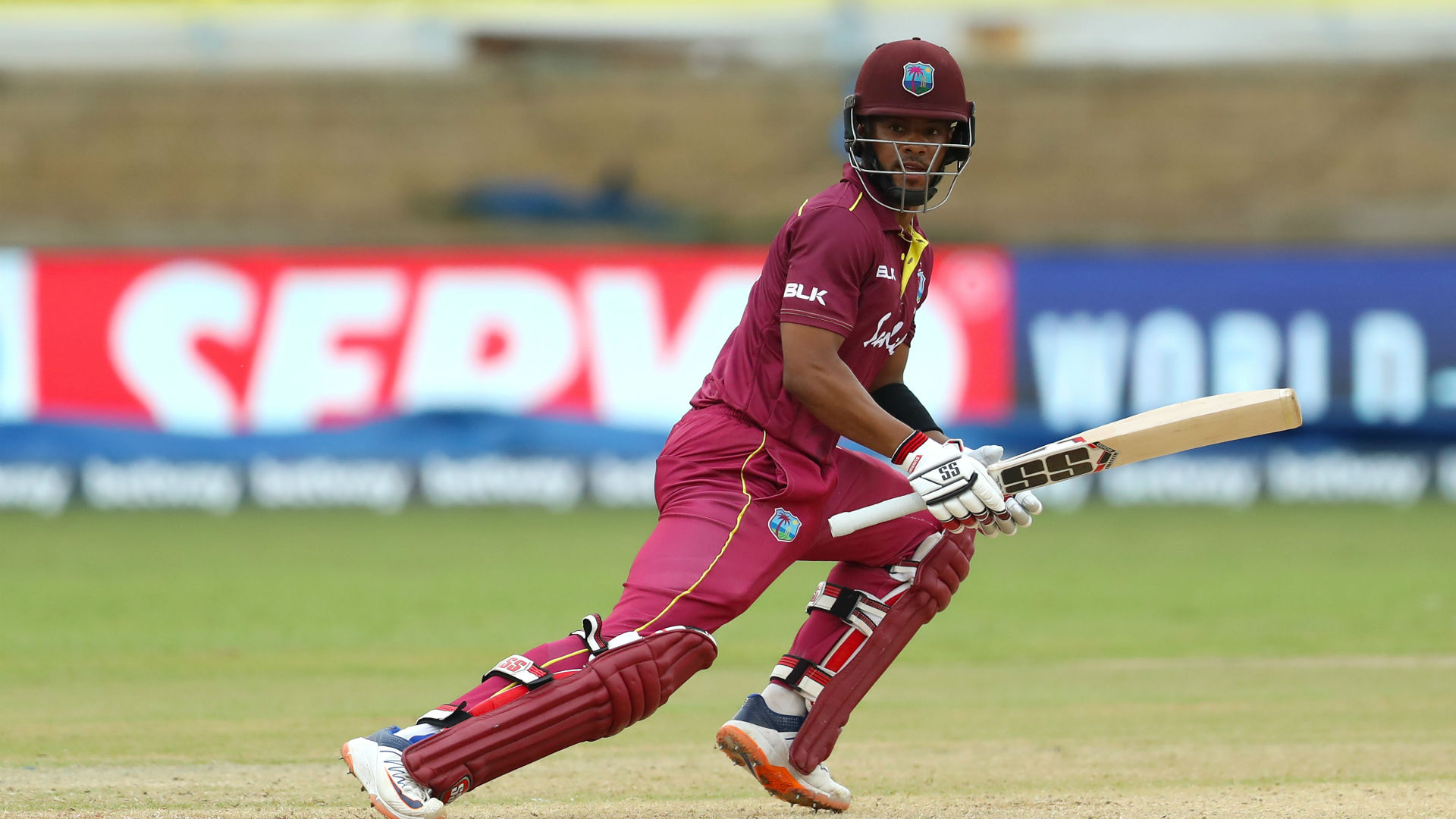 Hope leads the charge for Windies