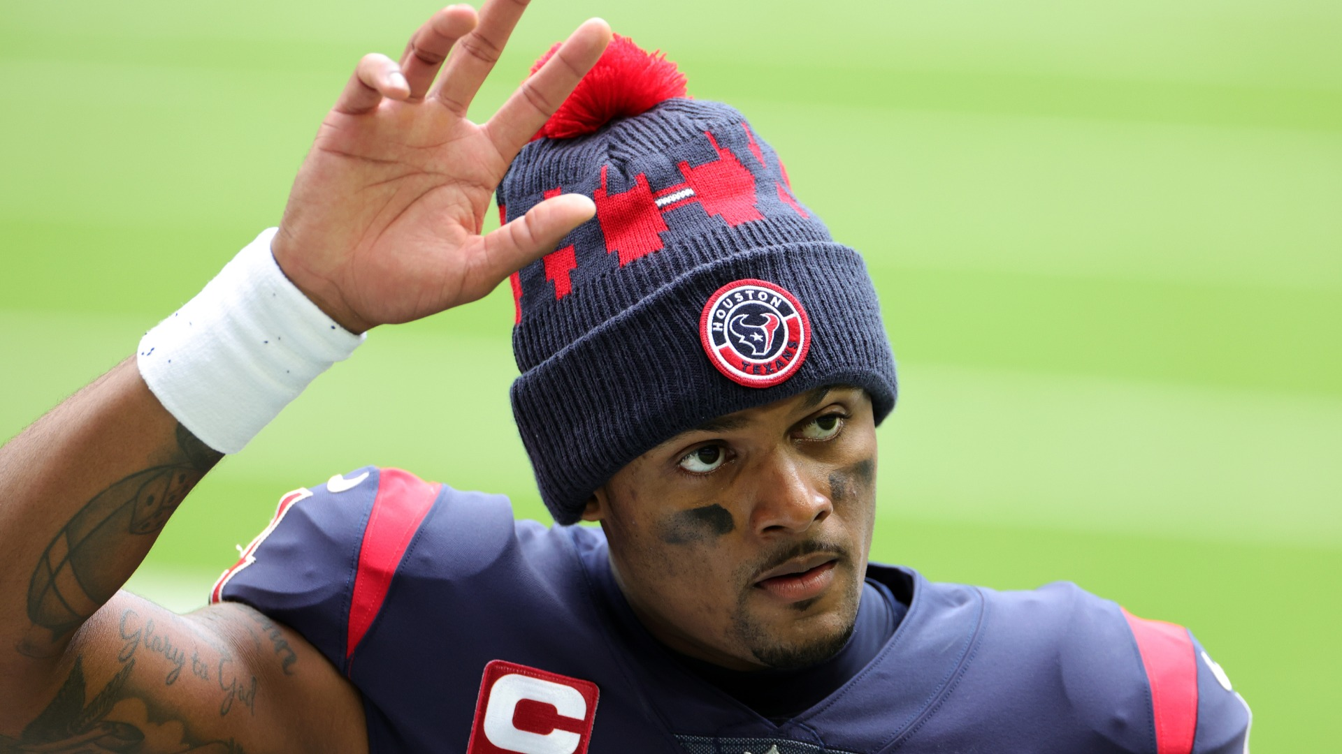 The Texans reportedly expect to trade Deshaun Watson and, given the global health crisis, the quarterback does not want fans to protest.