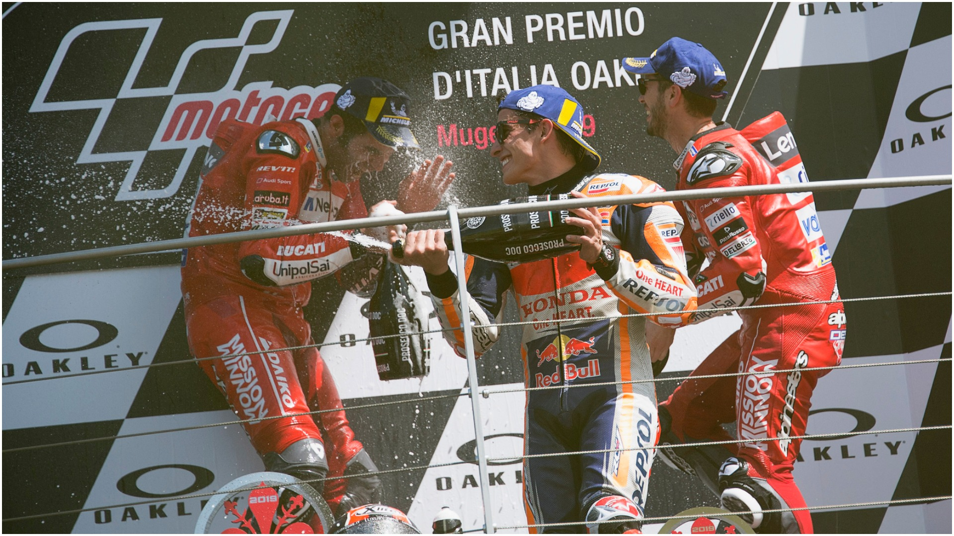 Danilo Petrucci finally tasted victory in MotoGP but quickly lauded Andrea Dovizioso, one of the men he beat at Mugello.