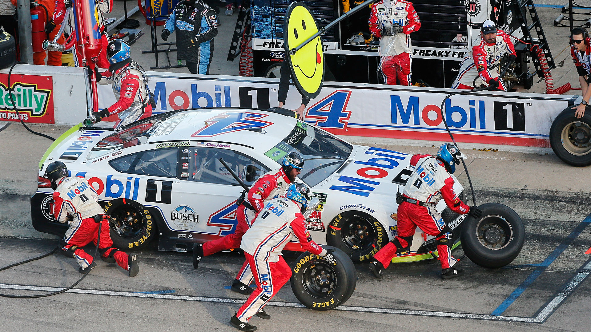Stewart-Haas Racing driver Kevin Harvick becomes the second driver to lock in for the Championship 4 at Homestead, joining Joey Logano.