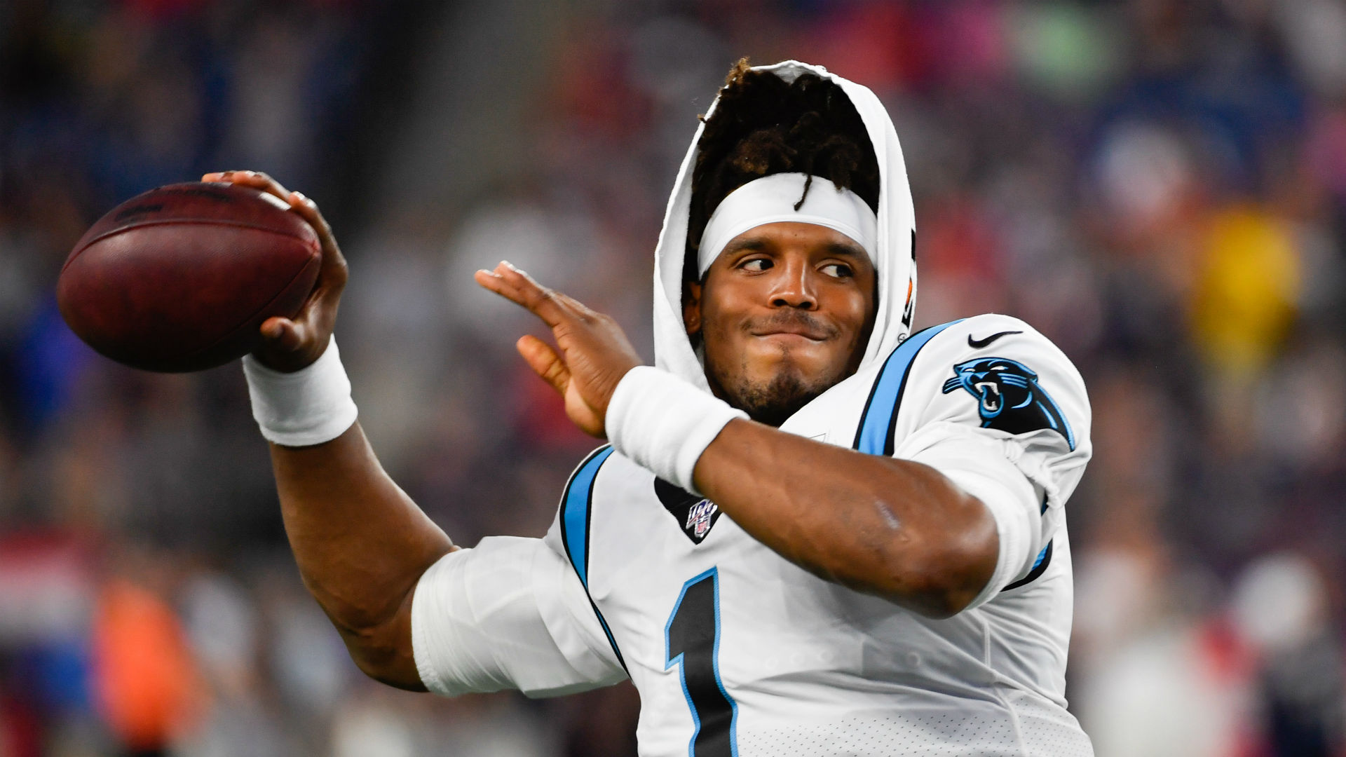 Cam Newton suffered a foot injury during Thursday's preseason match, but the Carolina Panthers are optimistic on the quarterback's fitness.