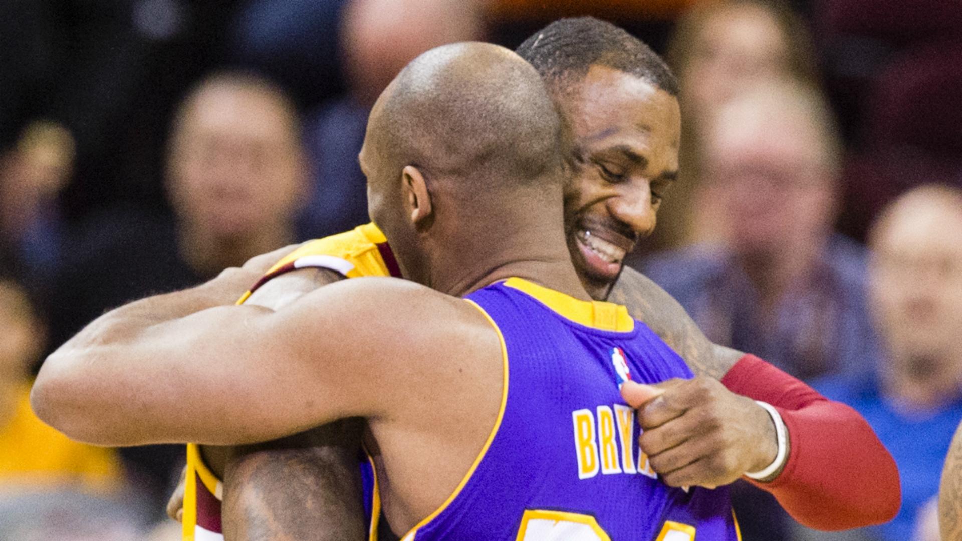 LeBron breaks silence on Kobe
