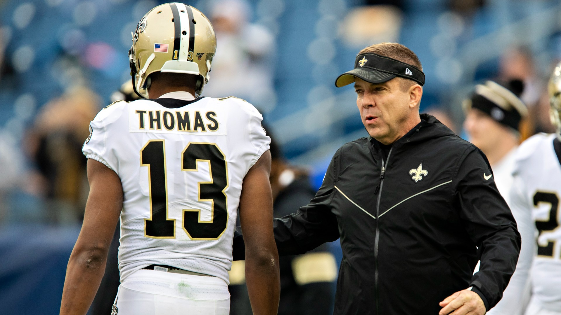 New Orleans Saints head coach Sean Payton expressed frustration that receiver Michael Thomas waited until June for ankle surgery.