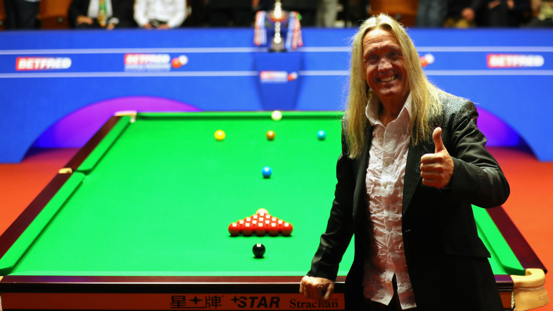 Snooker's World Championship is one of the staples of the sporting calendar. Here, a rock drummer and king cueman assess why it stands out.