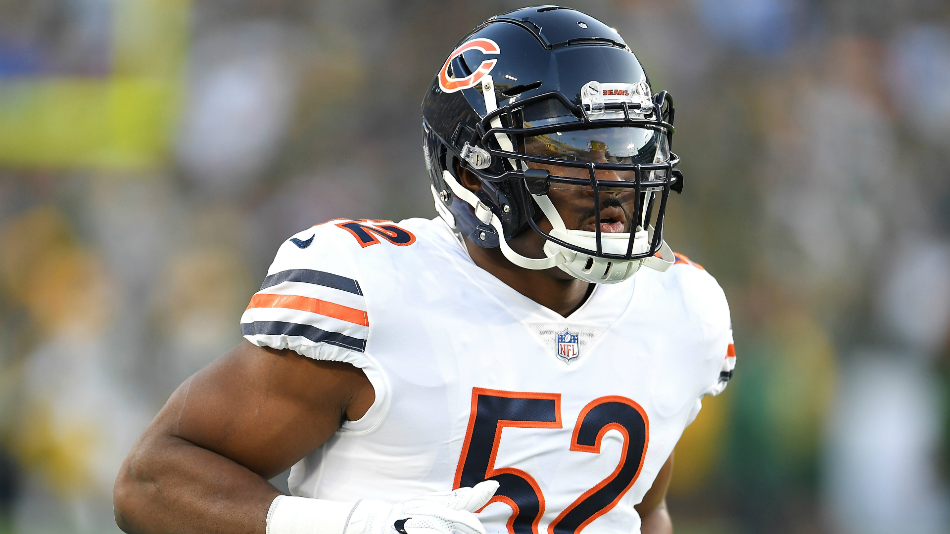 Mack 'day-to-day' with ankle injury