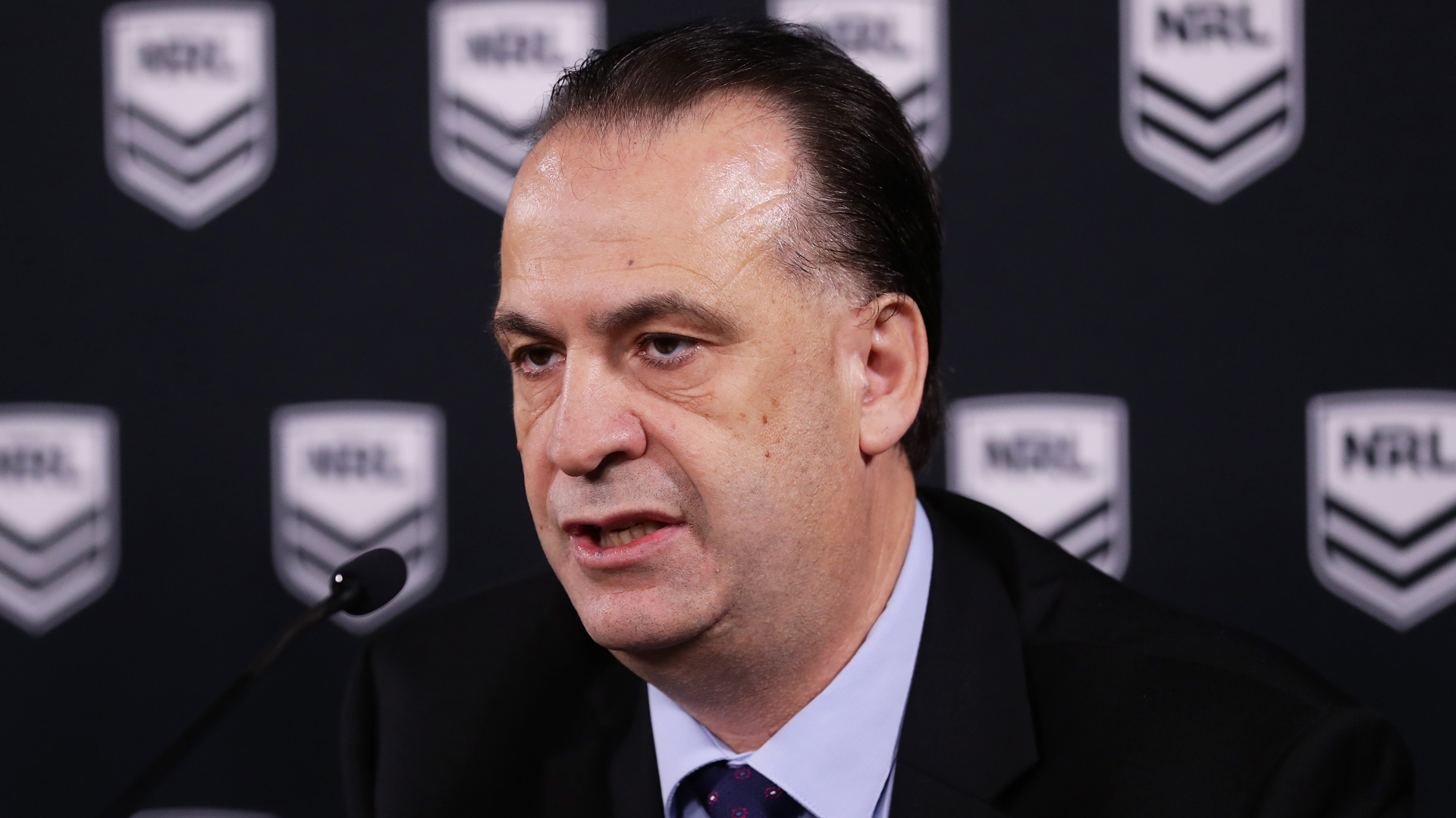 Peter V'landys believes the NRL season can restart as early as June, not July, amid the COVID-19 crisis.
