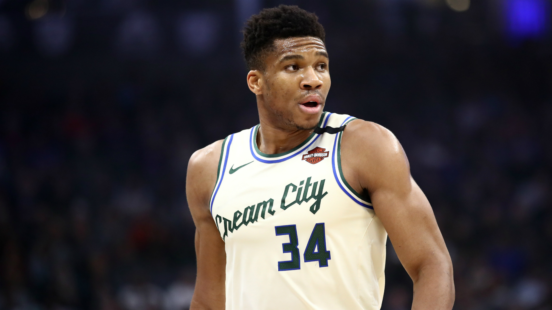 Giannis Antetokounmpo only played three quarters but still scored 37 points to lead the Milwaukee Bucks past the New York Knicks.