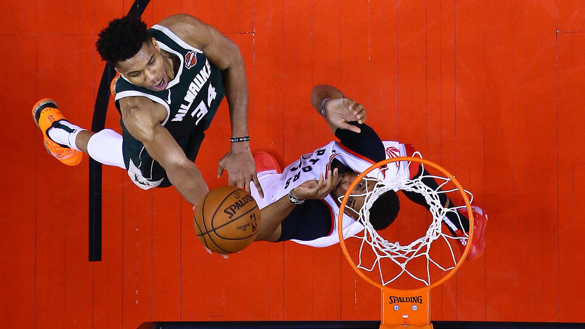 MVP contender Giannis Antetokounmpo is confident the Milwaukee Bucks will raise their game in Toronto on Tuesday.