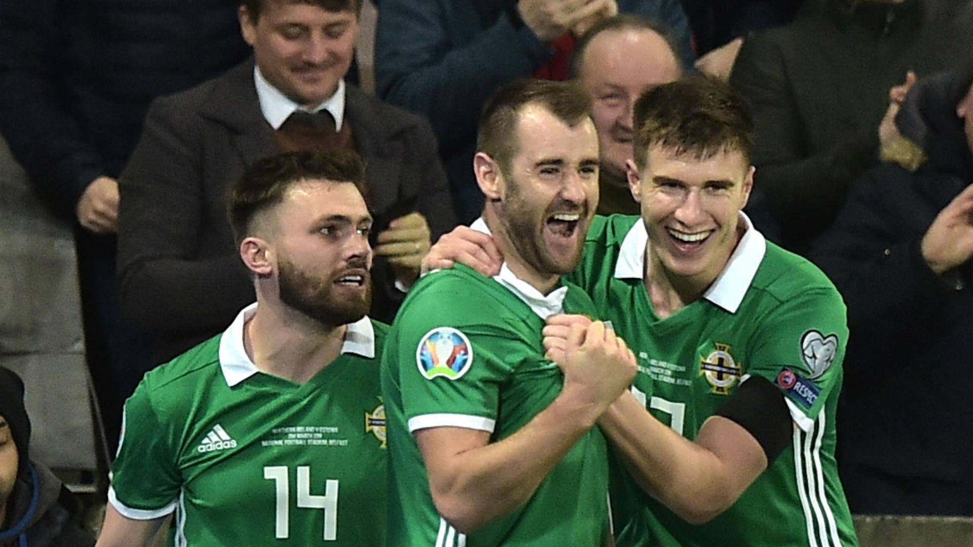 Northern Ireland 2 Estonia 0