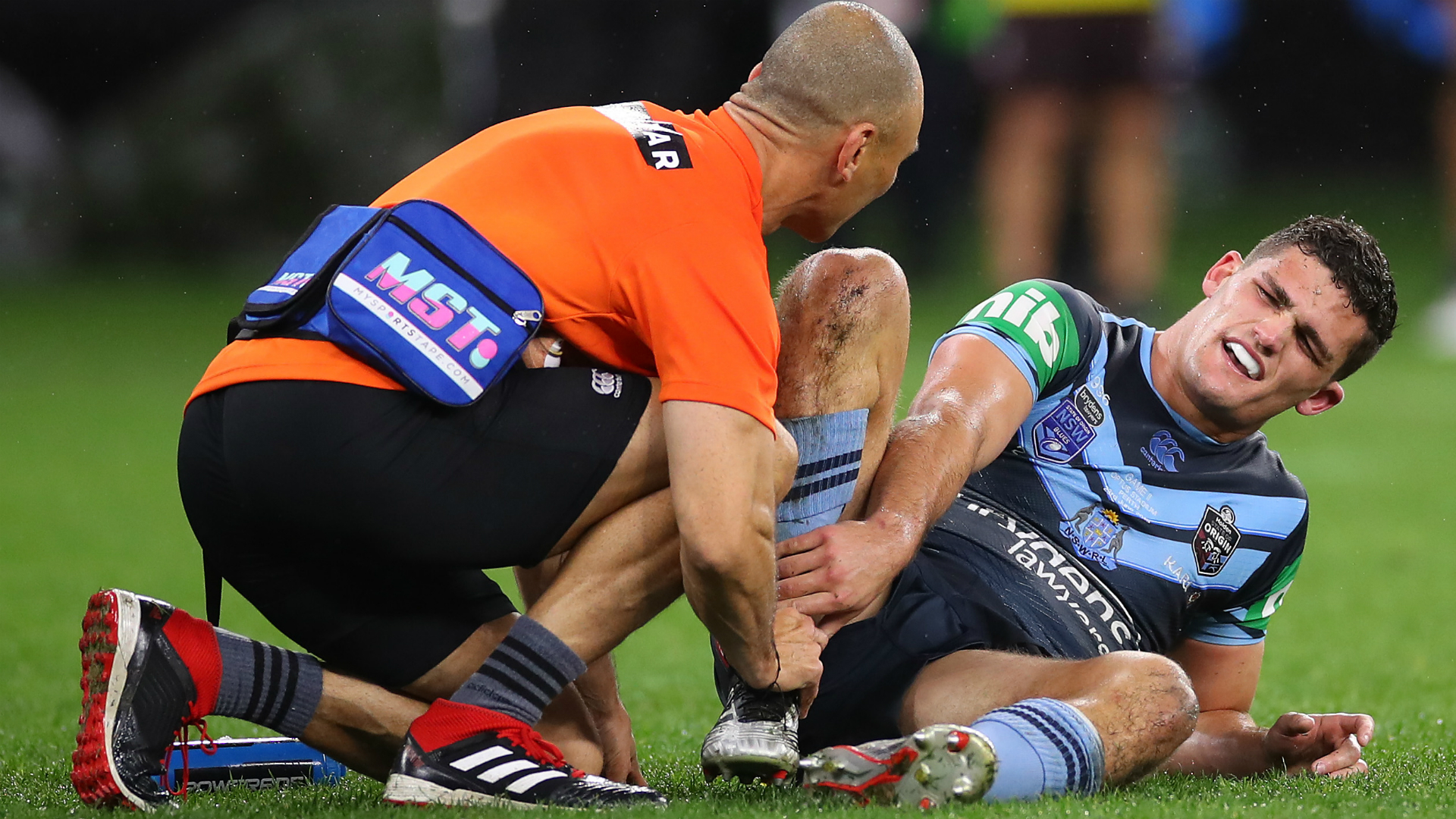Blues lose Cleary for Origin finale