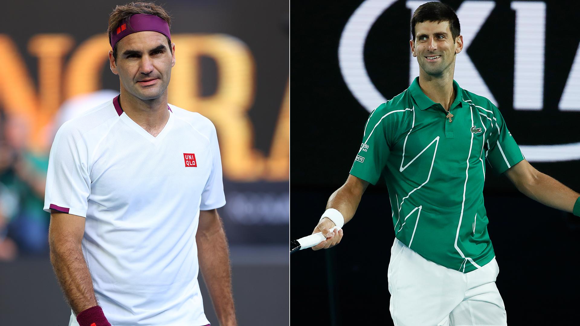 We take a closer look at Roger Federer and Novak Djokovic ahead of their Australian Open semi-final.