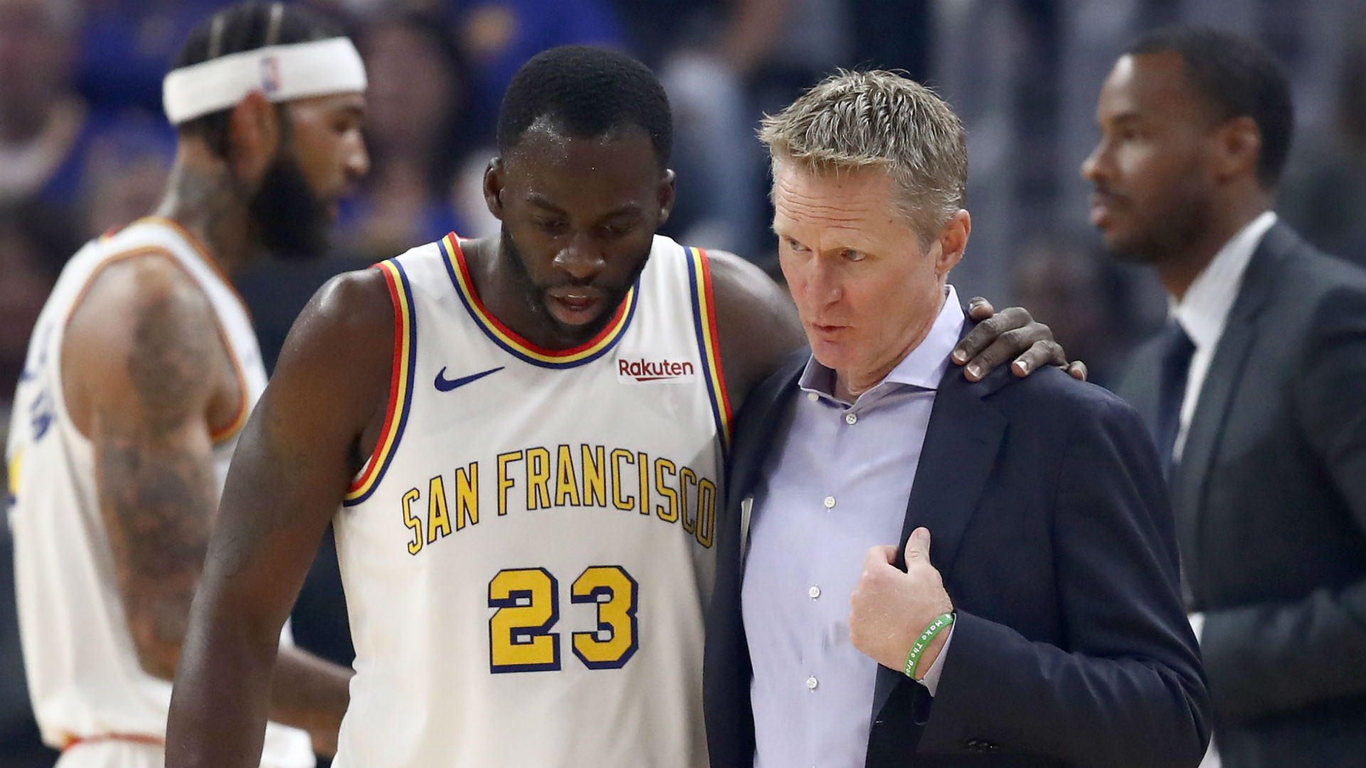 The Golden State Warriors snapped a seven-game losing streak by beating the Memphis Grizzlies, earning warm praise from coach Steve Kerr.