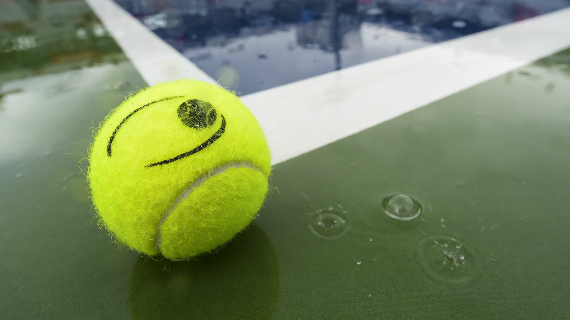 The Winston-Salem Open quarter-finals were pushed back to Friday due to bad weather in North Carolina.