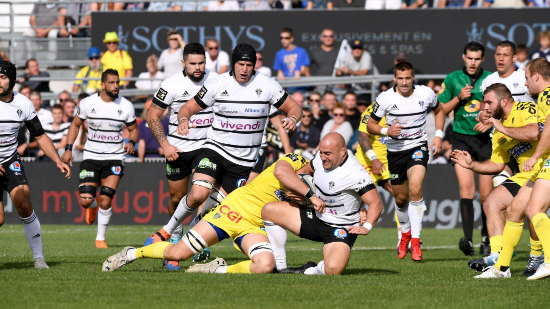 Clermont Auvergne suffered a derby defeat to Top 14 new boys Brive as defending champions Toulouse earned their first win of the season.