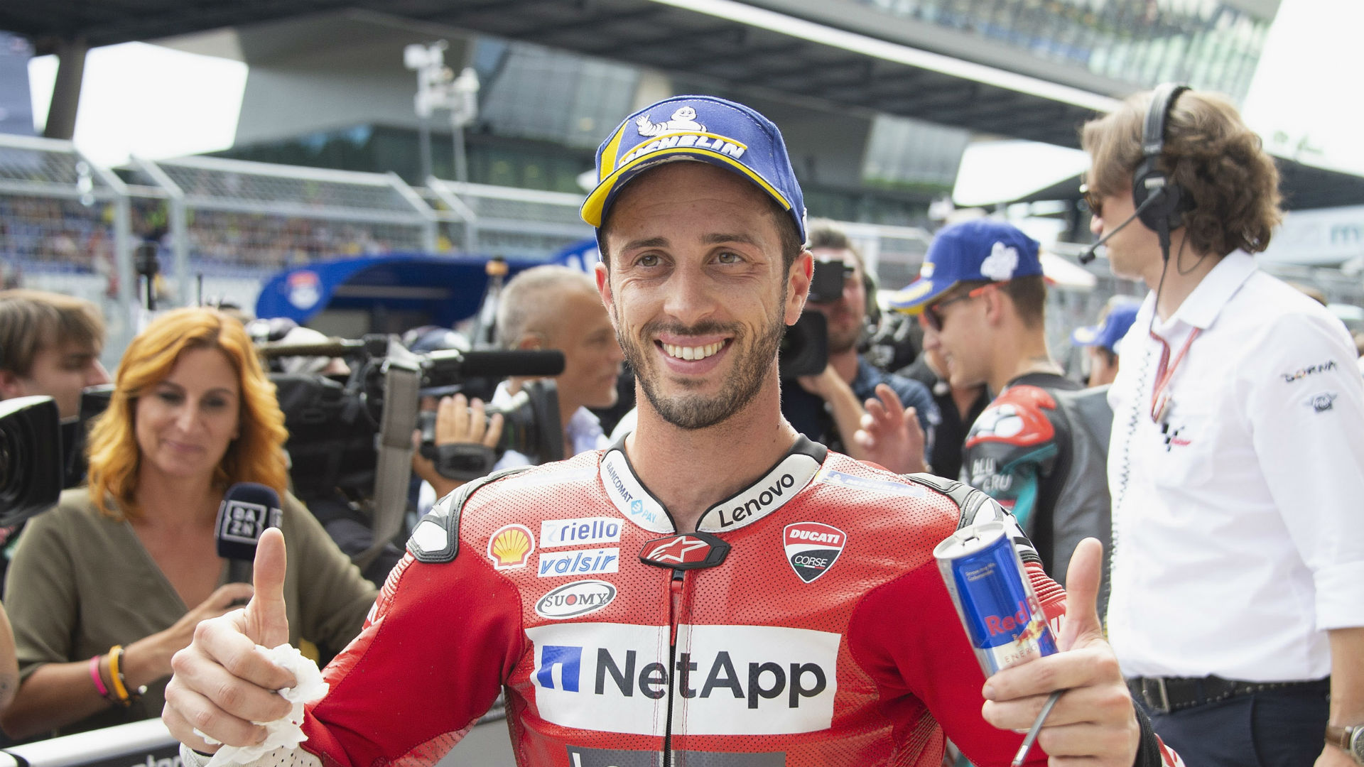"Marc Marquez thought he had a MotoGP victory in the bag in Austria, but then Andrea Dovizioso had a ""crazy"" idea."