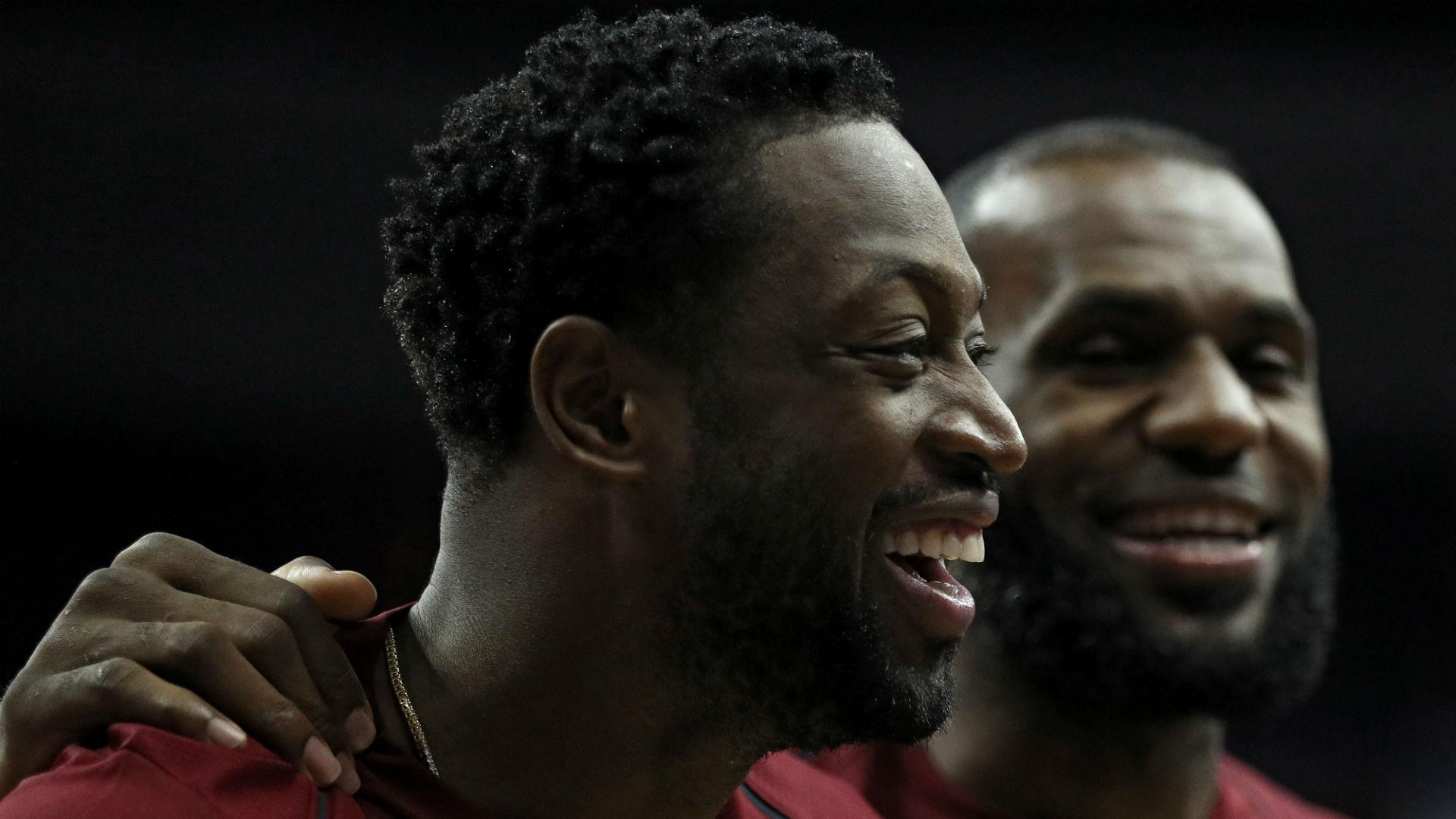 LeBron: Wade meeting bittersweet