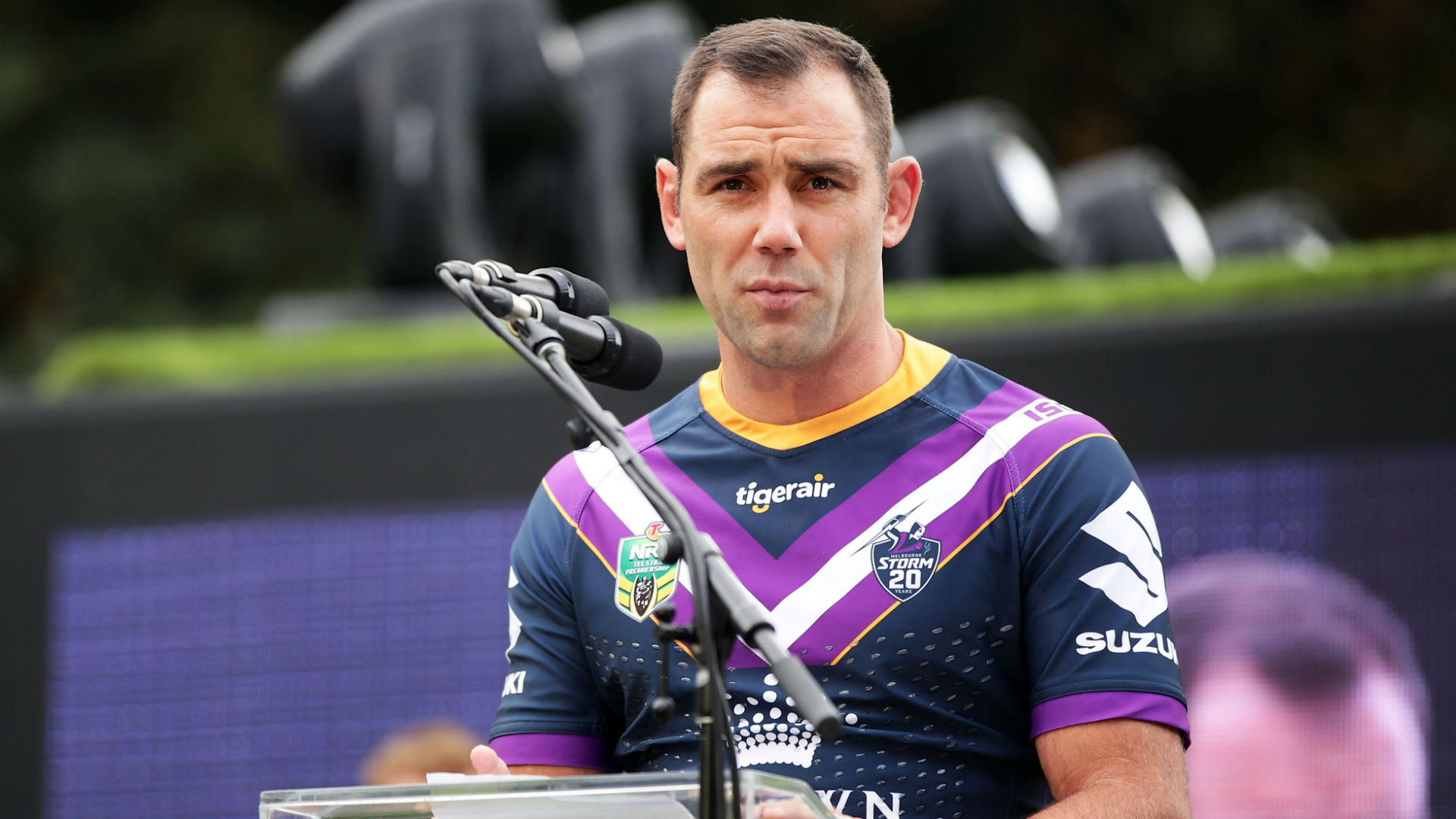 Cameron Smith is in no rush to decide whether he will play on in 2019 ahead of the new NRL season.