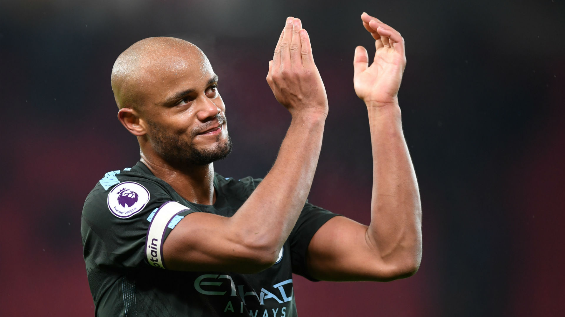 Manchester City can be crowned Premier League champions by beating Manchester United, a fantastic prospect for skipper Vincent Kompany.