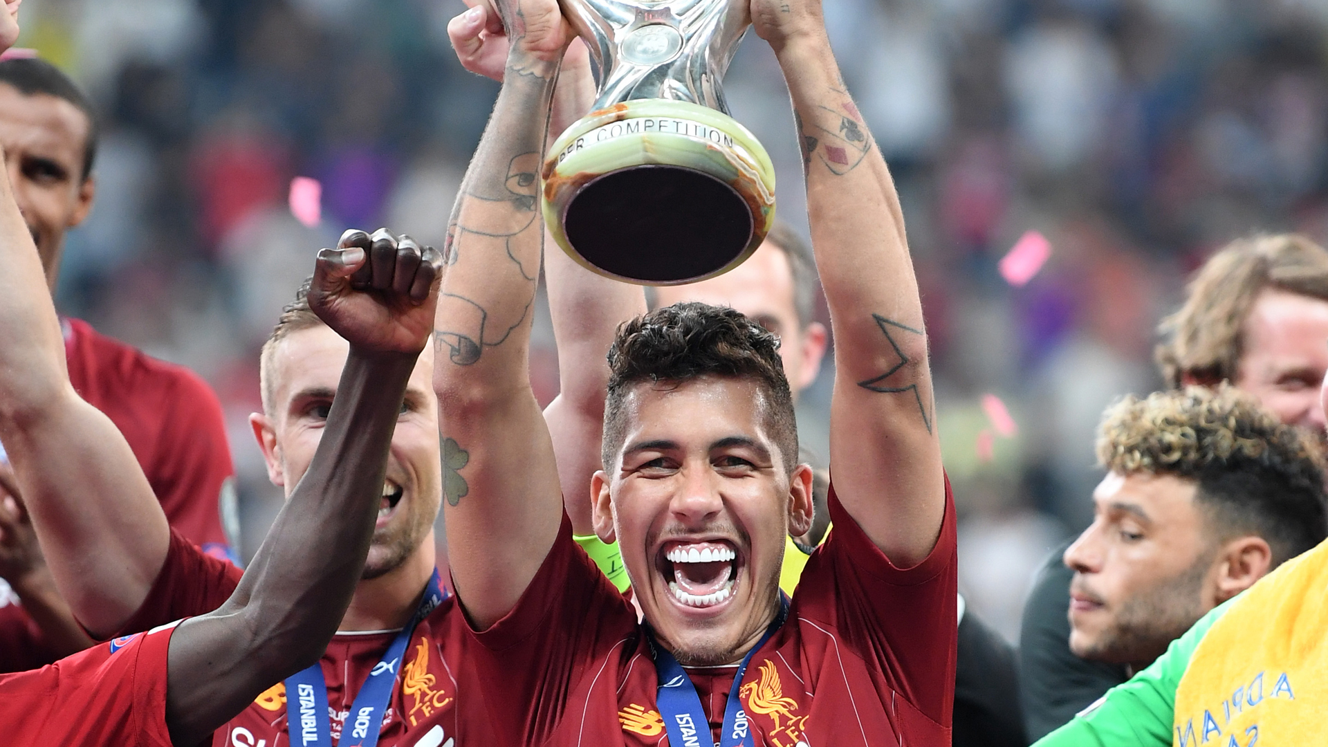 Liverpool manager Jurgen Klopp discussed Roberto Firmino and Alex Oxlade-Chamberlain's performances in the UEFA Super Cup.