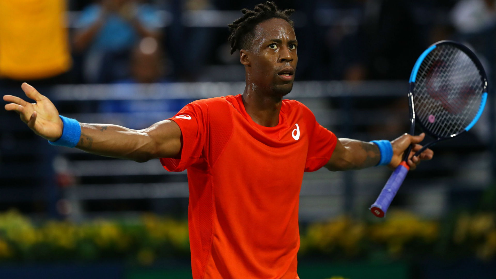 Monfils makes early Halle exit