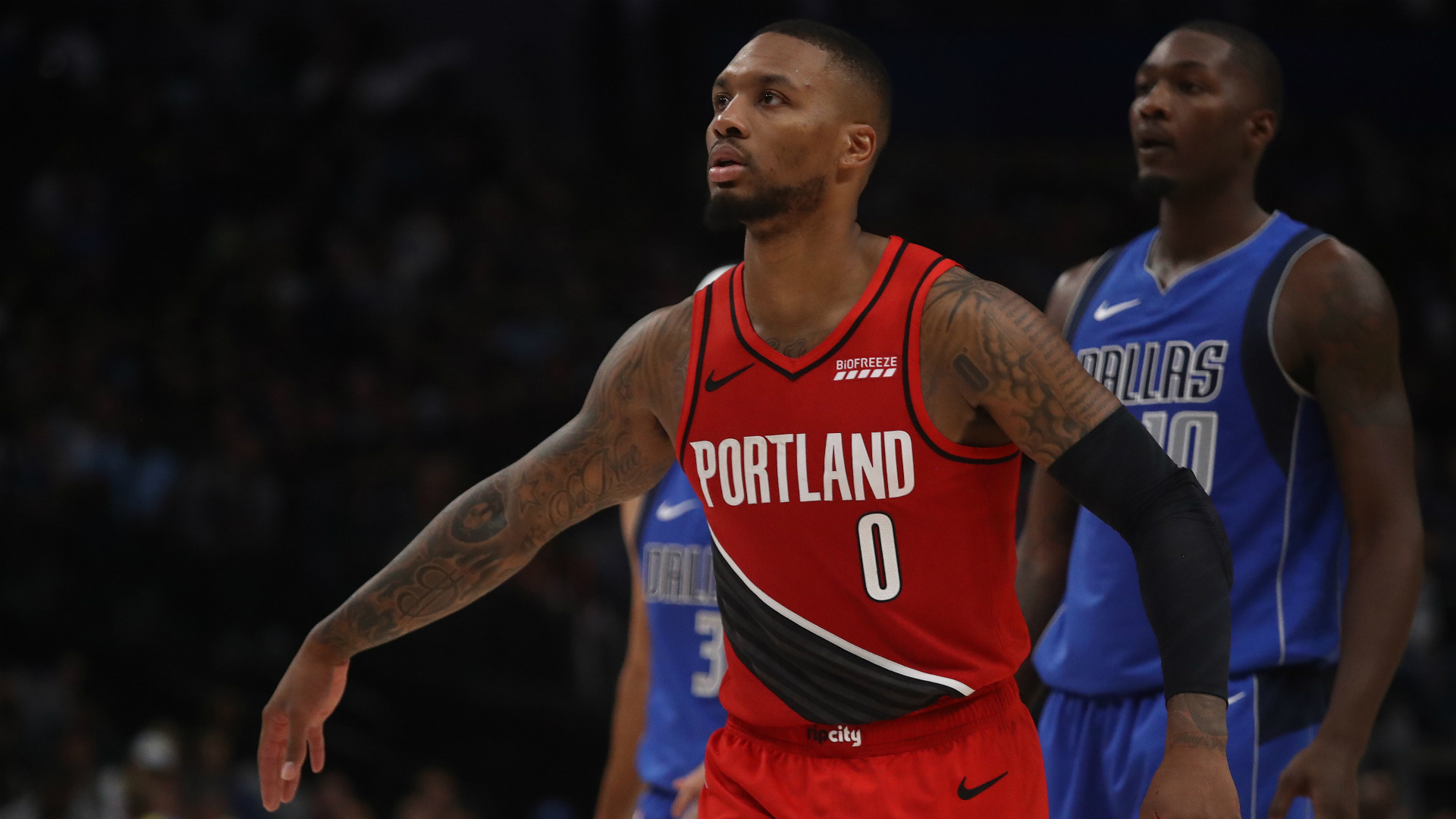 The Trail Blazers' poor run of results continued against the Nets despite Damian Lillard having a night to remember.