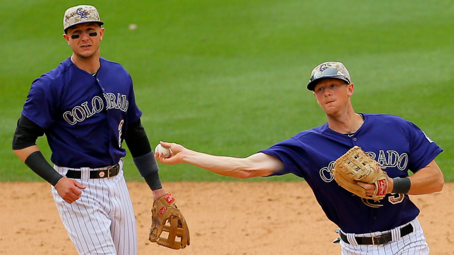 LeMahieu would join former Rockies teammate Troy Tulowitzki in New York's infield.