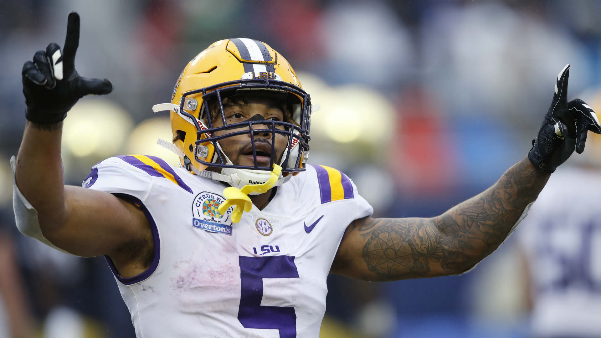Running back Derrius Guice told NFL teams to draft him or he would give their defenses hell.