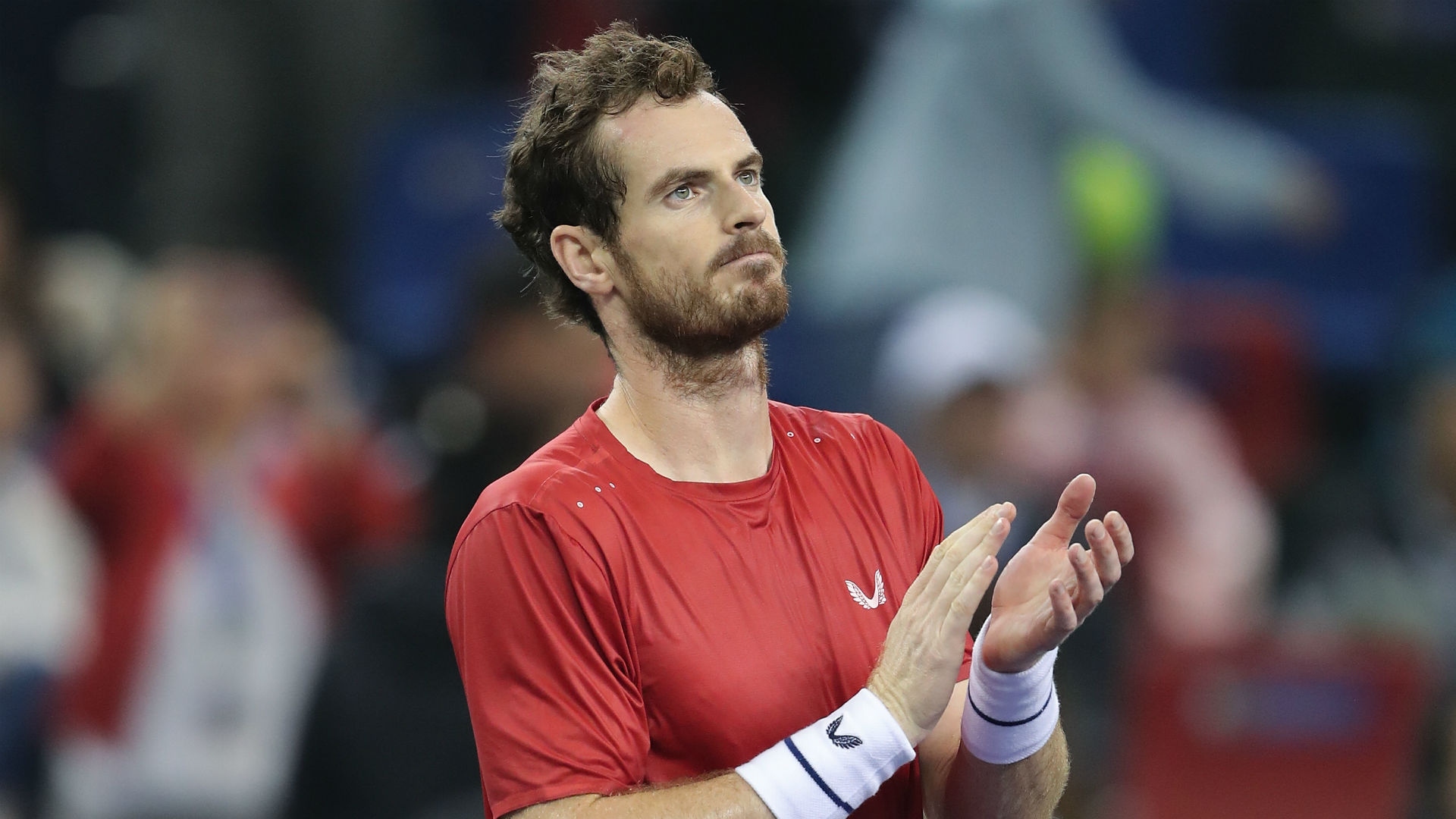 There was another encouraging performance from Andy Murray in Antwerp as he saw the back of eighth seed Pablo Cuevas in straight sets.