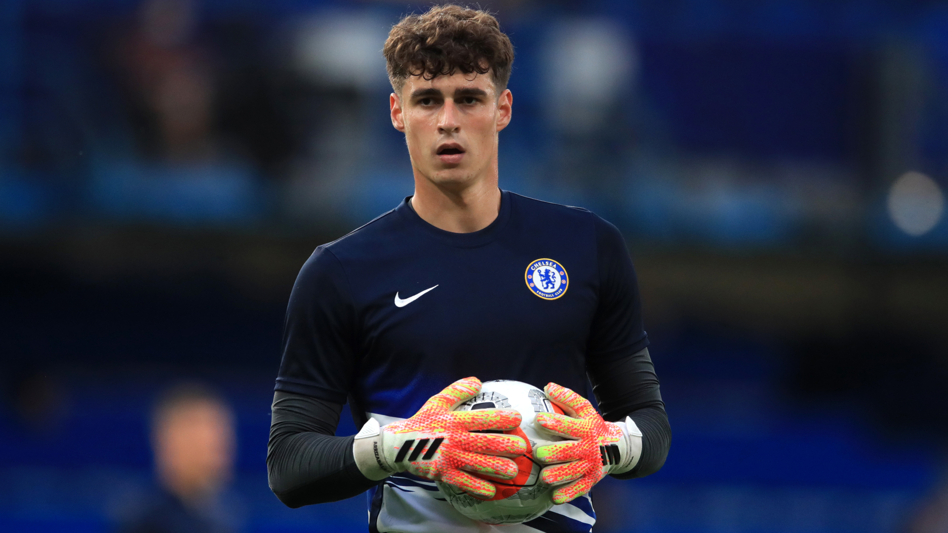 Kepa Arrizabalaga was backed by Chelsea captain Cesar Azpilicueta.