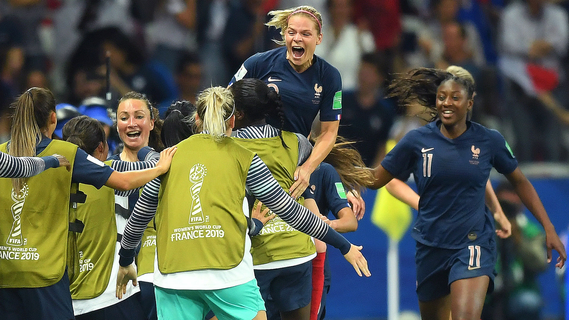 France and Germany ran out victors on Wednesday, to leave themselves within touching distance of the Women's World Cup knockout phase.