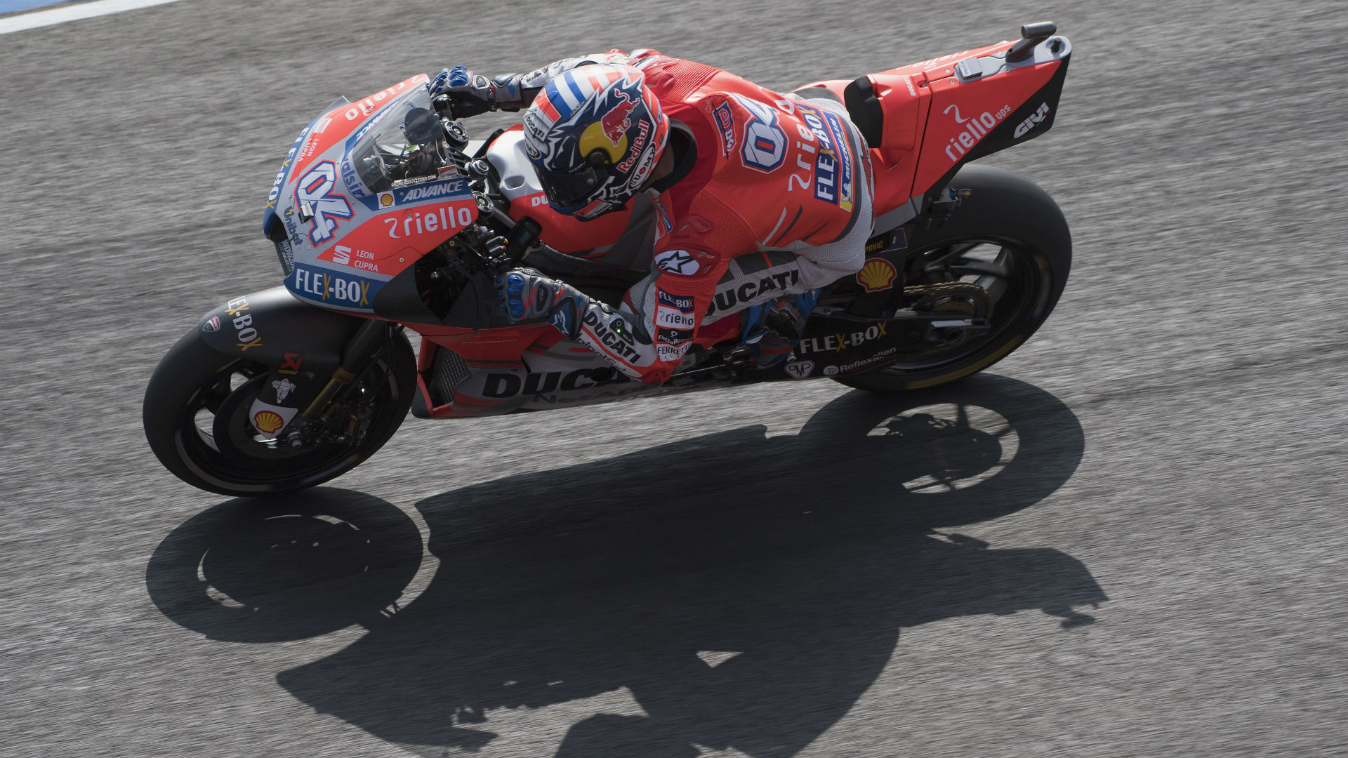 Andrea Dovizioso is unsure whether the wind was the major reason for a difficult FP2 at Termas de Rio Hondo.
