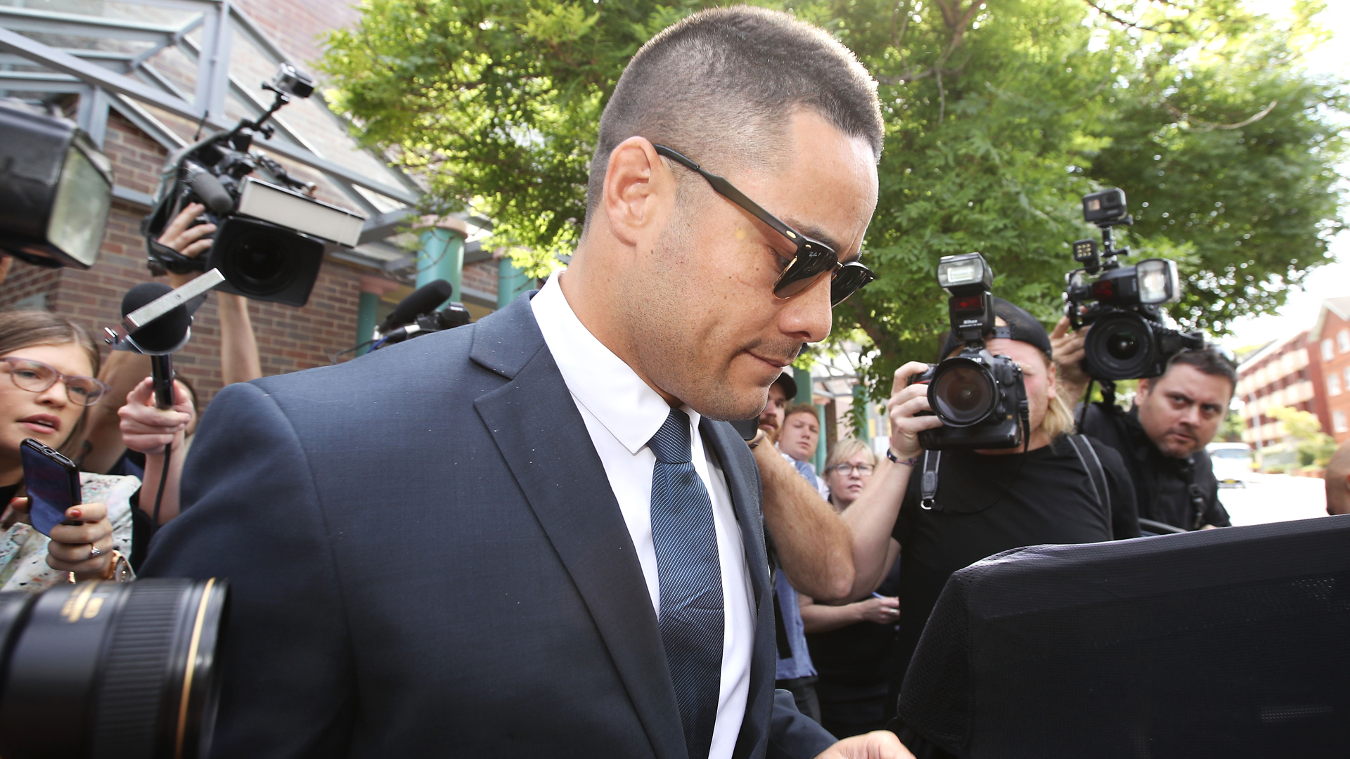 Former Australia and Fiji rugby league international Jarryd Hayne was jailed at Newcastle District Court on Thursday.