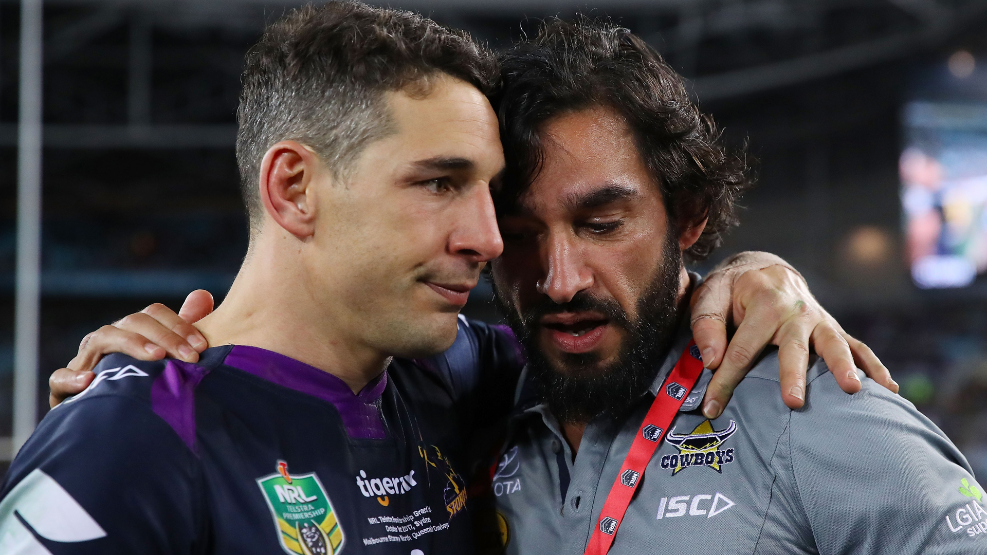 Billy Slater and Johnathan Thurston are set to make their 300th NRL appearances this season.