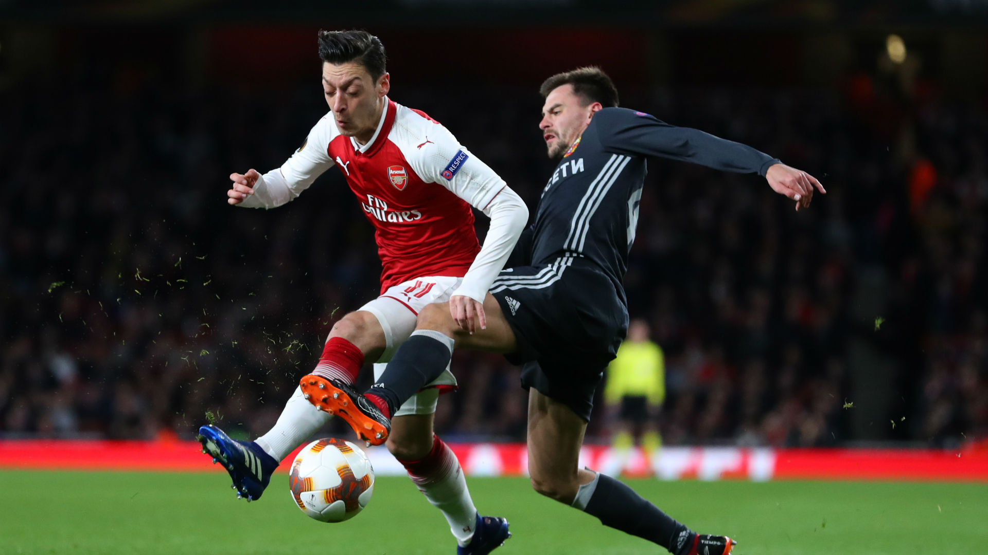 Arsenal can give Mesut Ozil the platform to further improve and deliver as he did against CSKA Moscow at the Emirates, says Per Mertesacker.