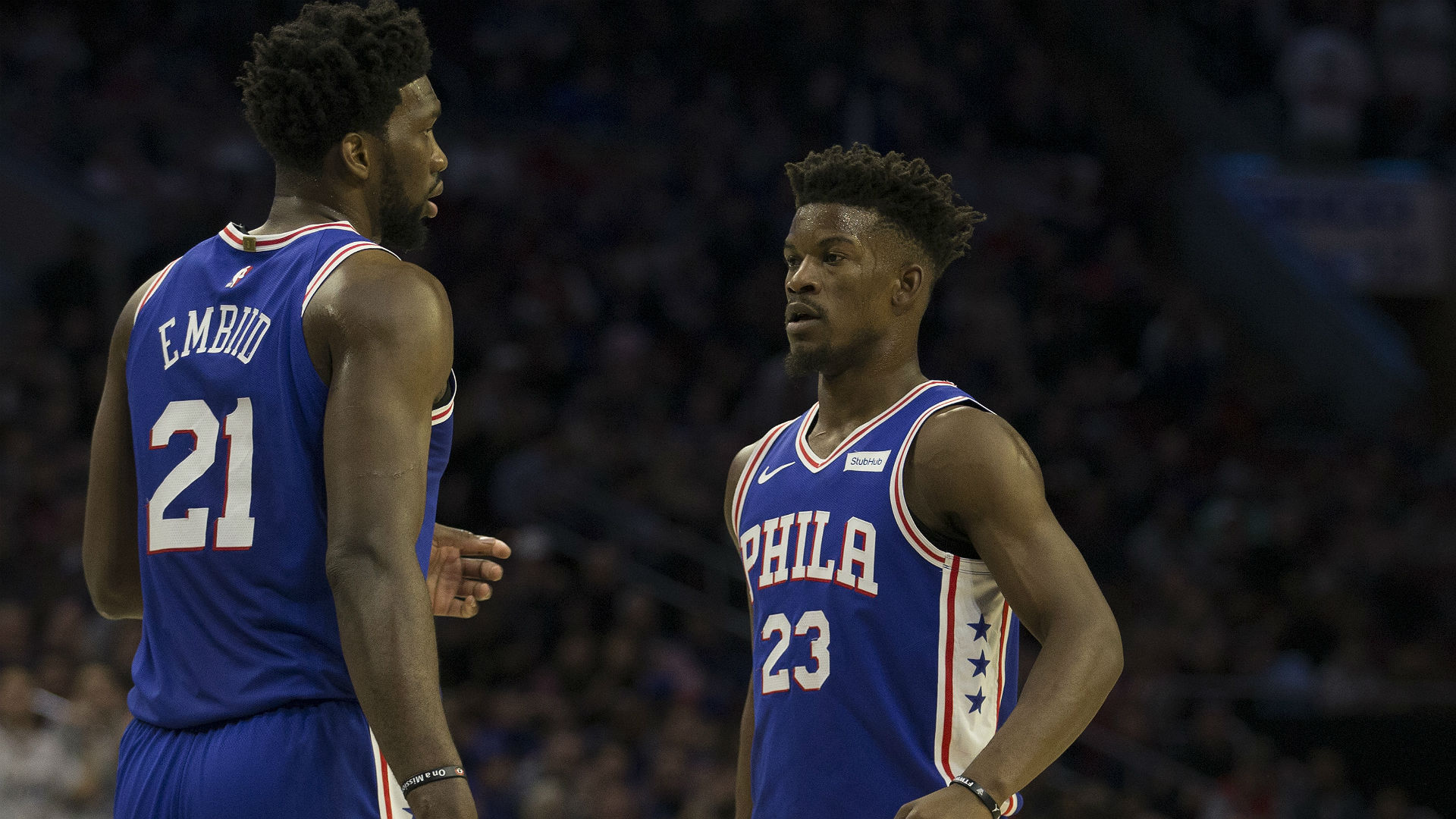 Butler responds Embiid's comments