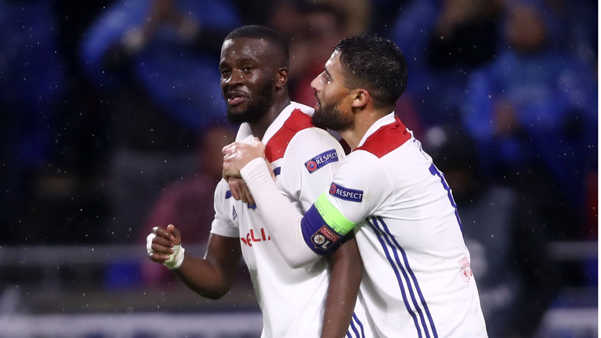 Lyon midfielder Tanguy Ndombele has been linked with a move Juventus and has been likened to Paul Pogba by Bruno Genesio.