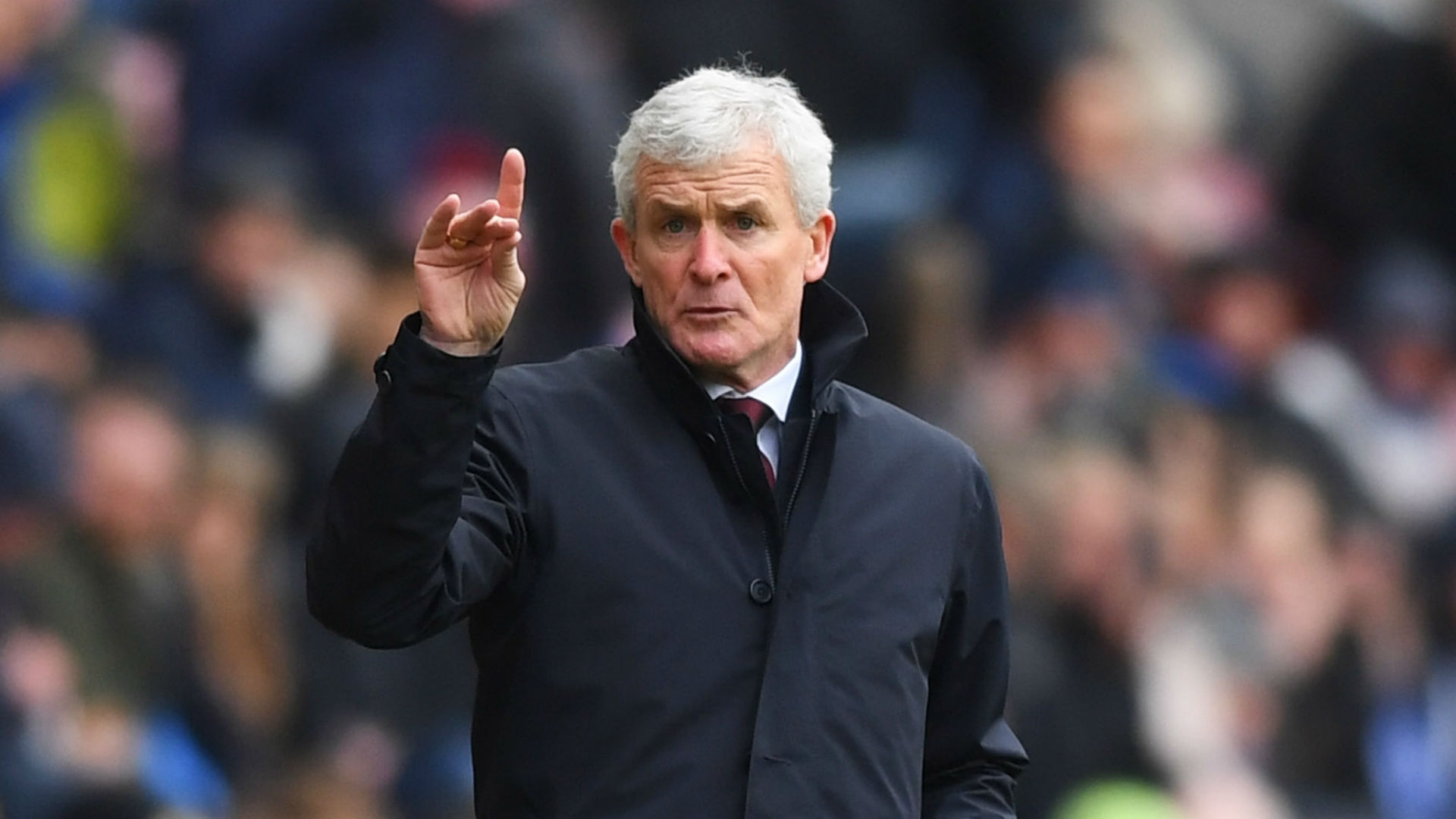 Southampton's capitulation at the hands of West Ham on Saturday left Mark Hughes frustrated and hunting for a way to solve their problems.